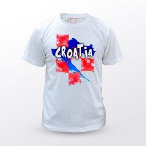 Majica Unisex CROATIA