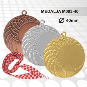 Medalja M003