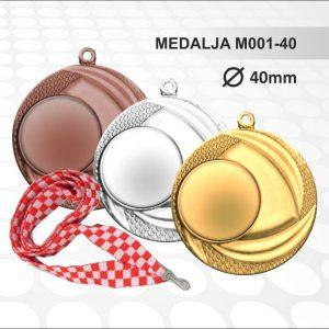 Medalja M001