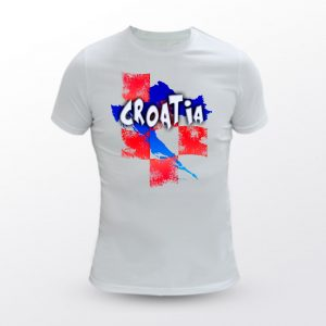 Majica MENS FIT CROATIA 2