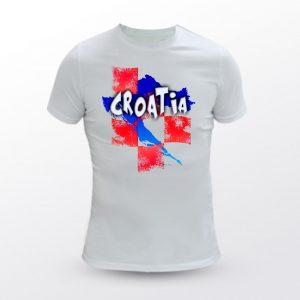 Majica MENS FIT CROATIA 2