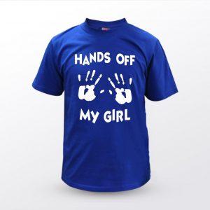 Majica Unisex HANDS OF MY GIRL