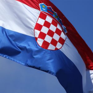 Službena Hrvatska zastava 75x150 cm