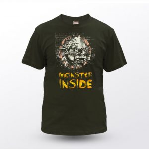 Majica Unisex MONSTER INSIDE