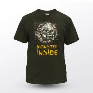 Majica Unisex MONSTER INSIDE